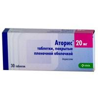 Аторис, табл. п/о пленочной 30 мг №30